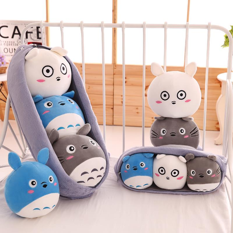 Totoro Pillow 3in1 Doll Toys Bedroom (end 7 18 2019 3 15 PM) fd75d36560