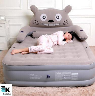 Totoro Portable Inflatable Mattress Sofa - Thicken Version (T1818)