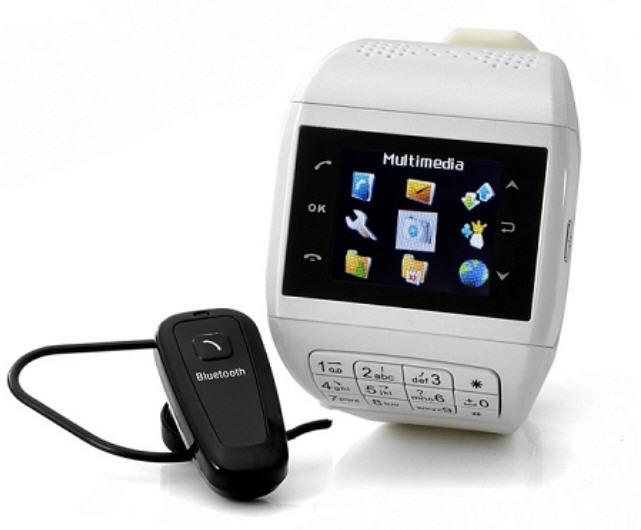 His/Hers Touch Screen Dual SIM Mobile Phone Watch (WP-Q8).