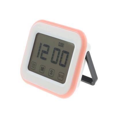 touch screen clock