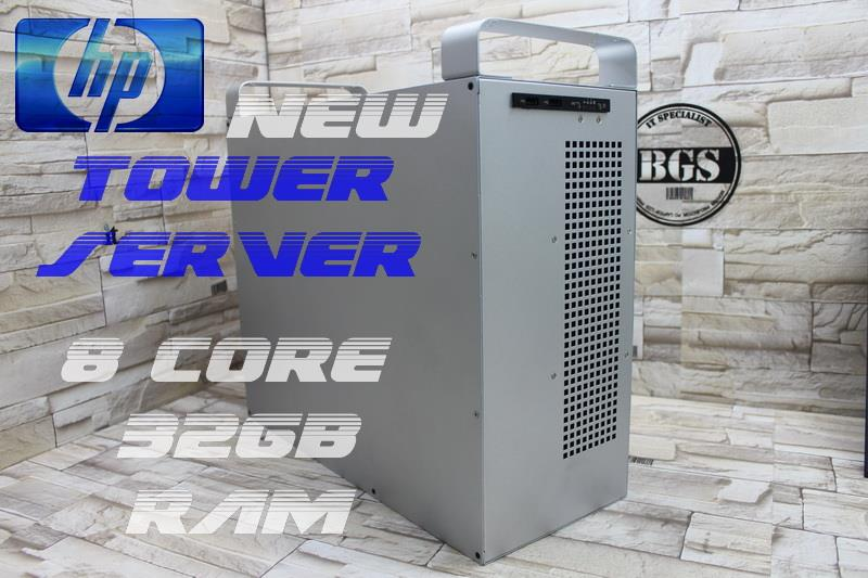 New  Tower Server ,8 CORE 32GB RAM