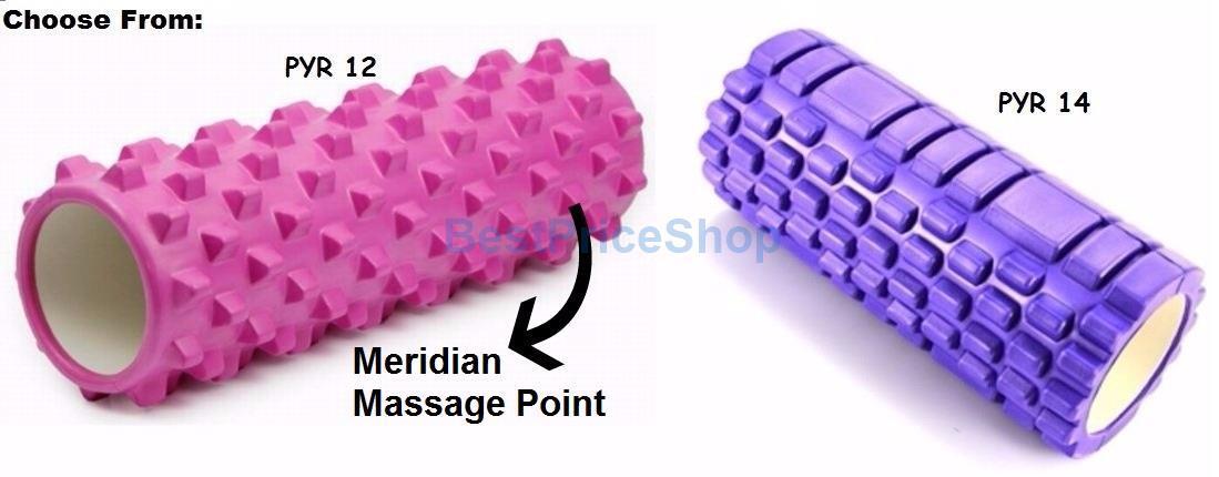 Non Toxin Heavy Duty Trigger Point Eva Foam Pilates Gym Yoga Roller