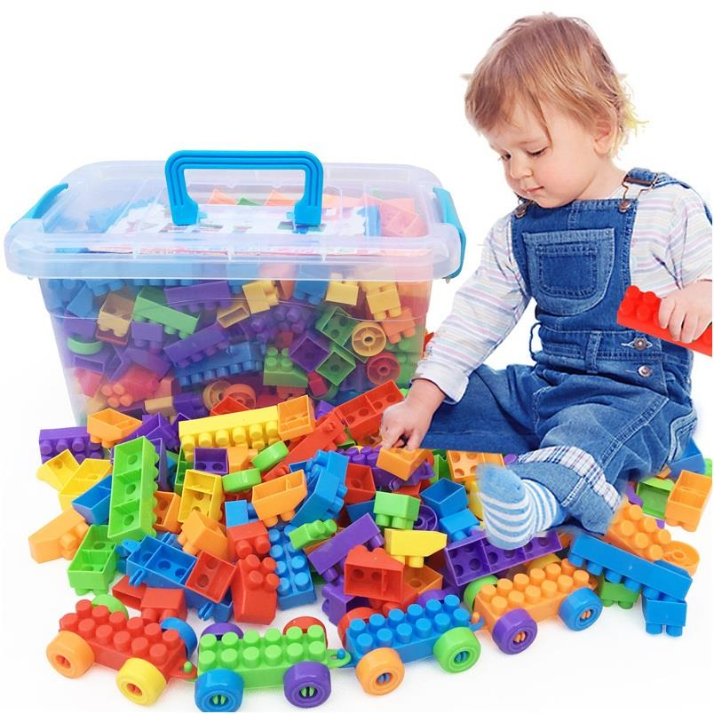 Toy Brick Lego 286pcs with box