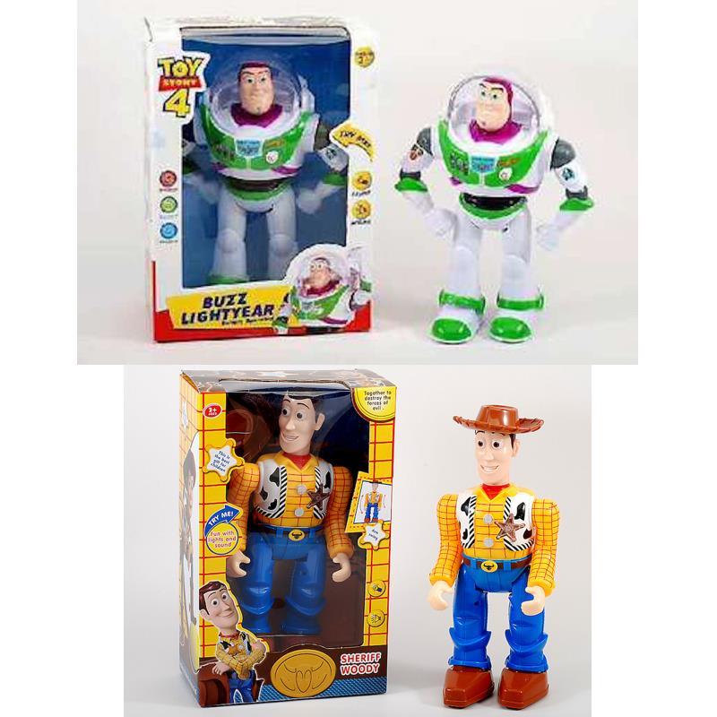 Toy STORY 4 Buzz / Woody Lightyear, sound & light effects
