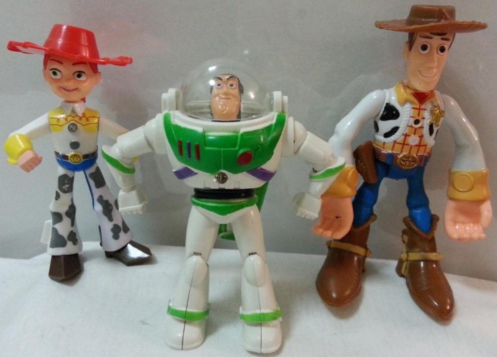 Toy Story Figurines : Disney pixar toy story hero buzz lightyear and slinky dog