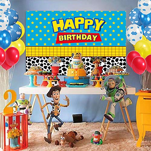 Toy Story Party Supplies Decorations,100 Pack Balloons Arch Garland, 4.5*2.8 F