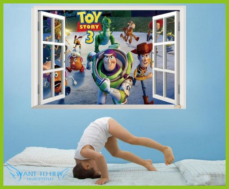 Toy Story Wall Decals Removable Stick (end 9/4/2019 6:15 PM