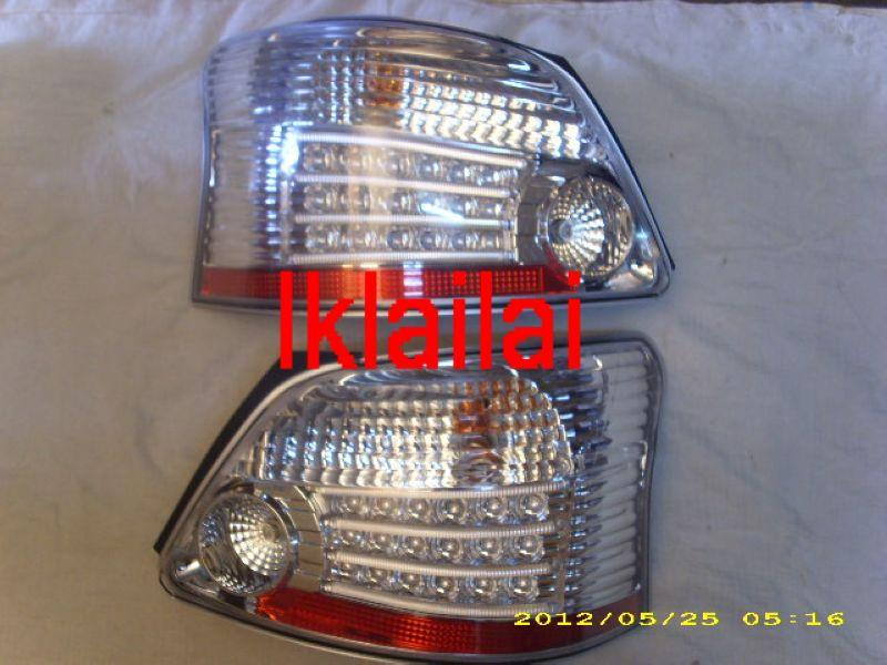 Toyota 08 Vios Tail Lamp Crystal LED Clear (M5 Look)[TY17-RL05-U]
