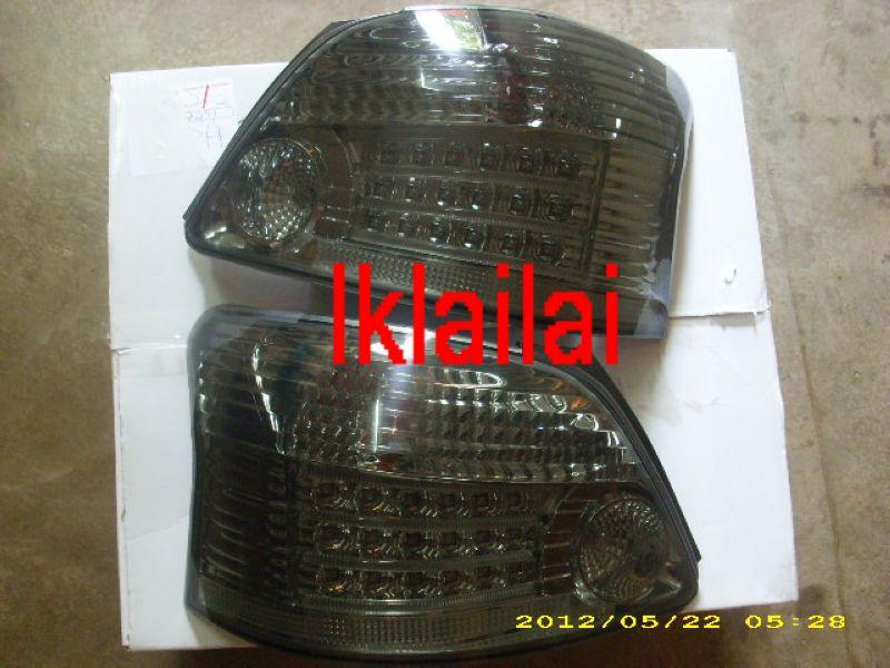 Toyota 08 Vios Tail Lamp Crystal LED Smoke (M5 Look)(TY17-RL06-U)