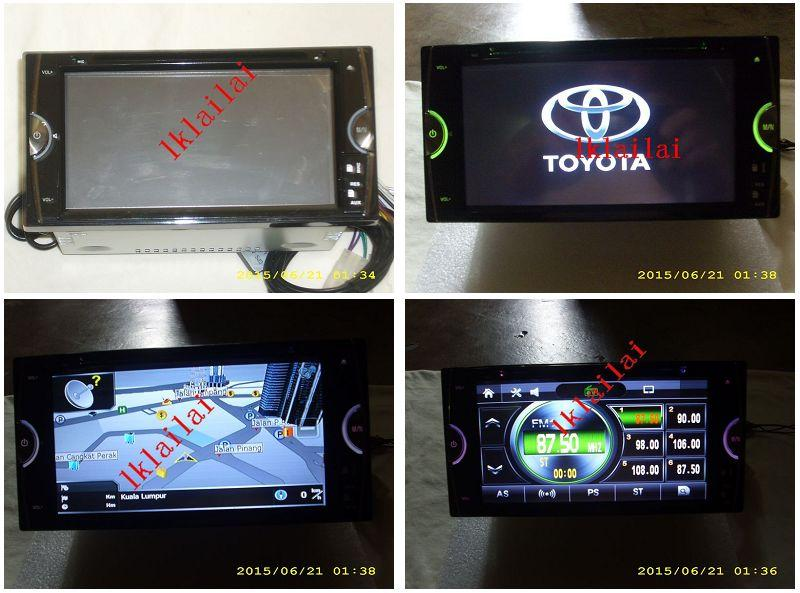 Toyota 6.95' OEM DVD/USB Player GPS Full HD Screen [Limited Stock]