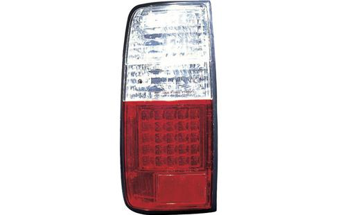 Toyota 90-94 Landcruiser FJ80/FJ82 Tail Lamp Crystal LED Clear/Red(TY5