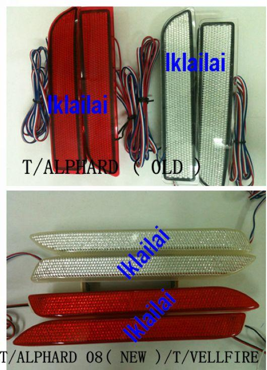 Toyota Alphard '05[old]/'08[new] & Vellfire LED Rear Bumper Light
