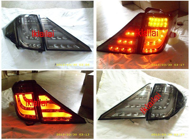 Toyota Alphard `08/ Vellfire '09 Tail Lamp LED+Light Bar Smoke