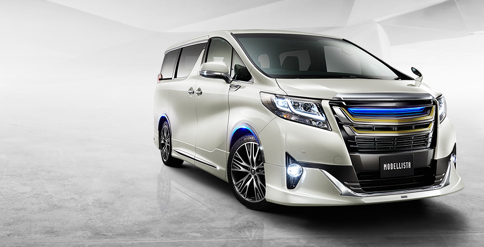 Toyota Alphard 2015 G / SC Modellista PP Material Bodykit With Paint