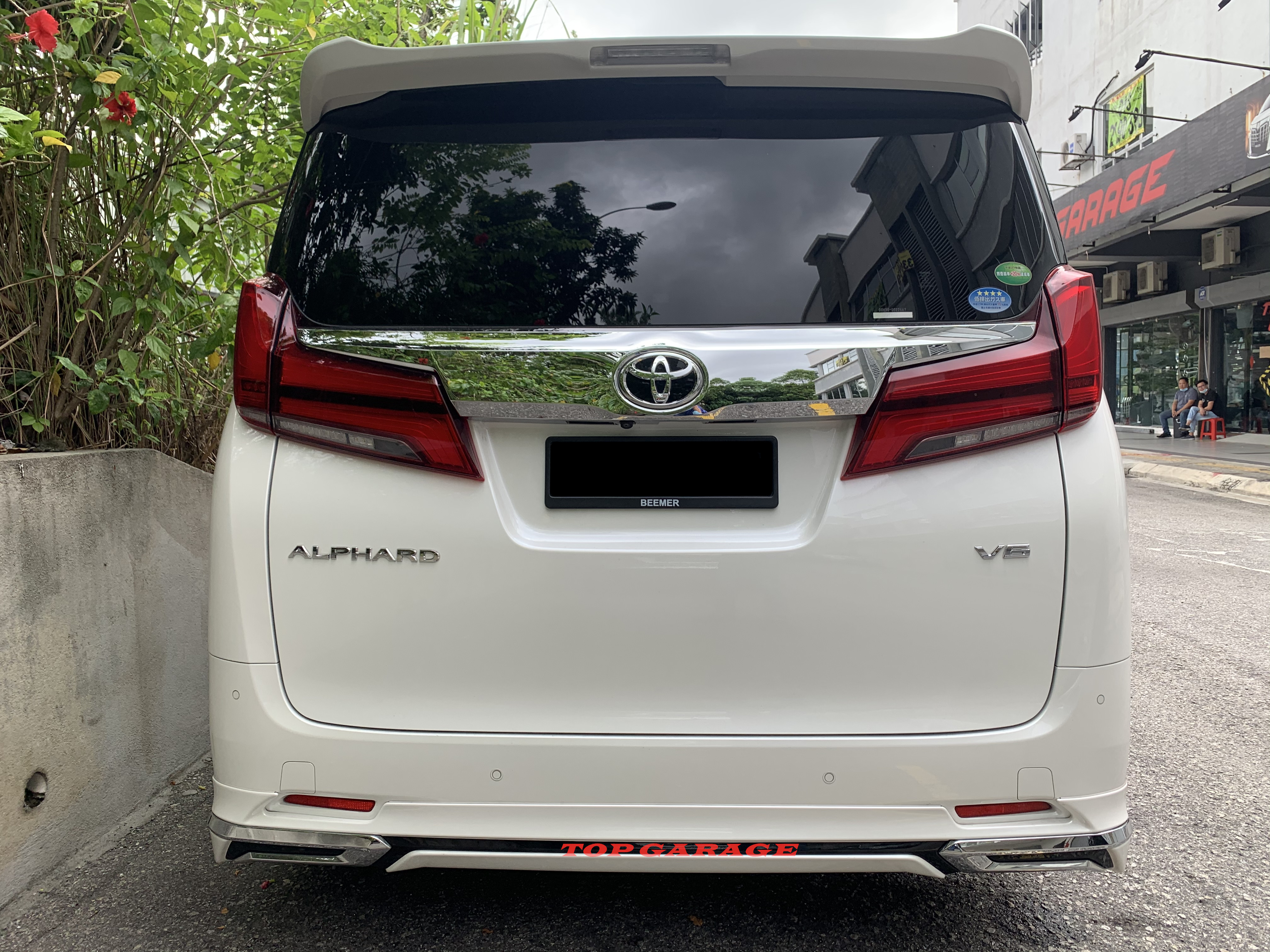 Toyota Alphard AGH30 2018 Normal Modellista Body kit With Painting
