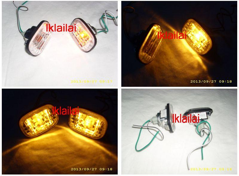 Toyota Altis`01-`07 Side Lamp Crystal [TY15-SL01-U]