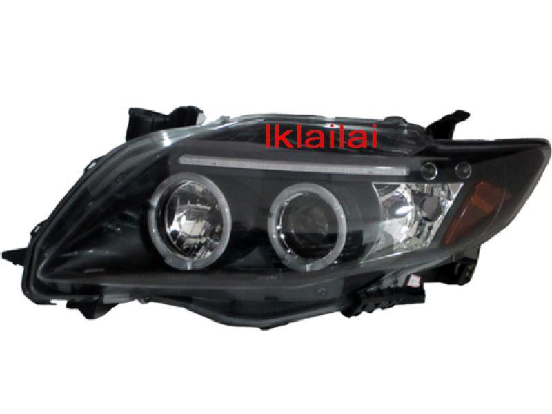 Toyota Altis '08 LED Ring Projector Head Lamp