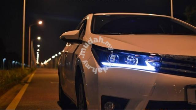 Toyota Altis 14-16 Projector Head Lamp DRL Led