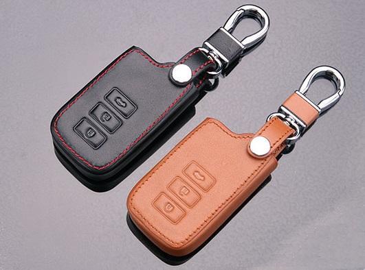 Toyota Altis Camry Harrier 2014-2016 Leather Remote Smart Key Cover