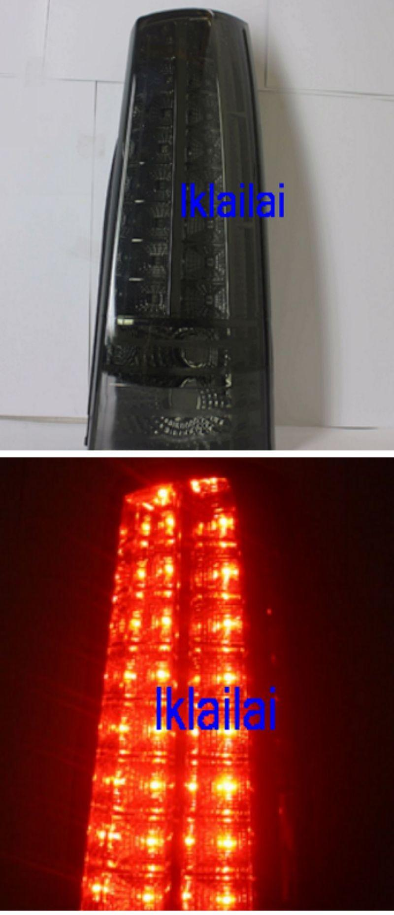 Toyota Avanza `02 Tail Lamp Crystal LED [Smoke]