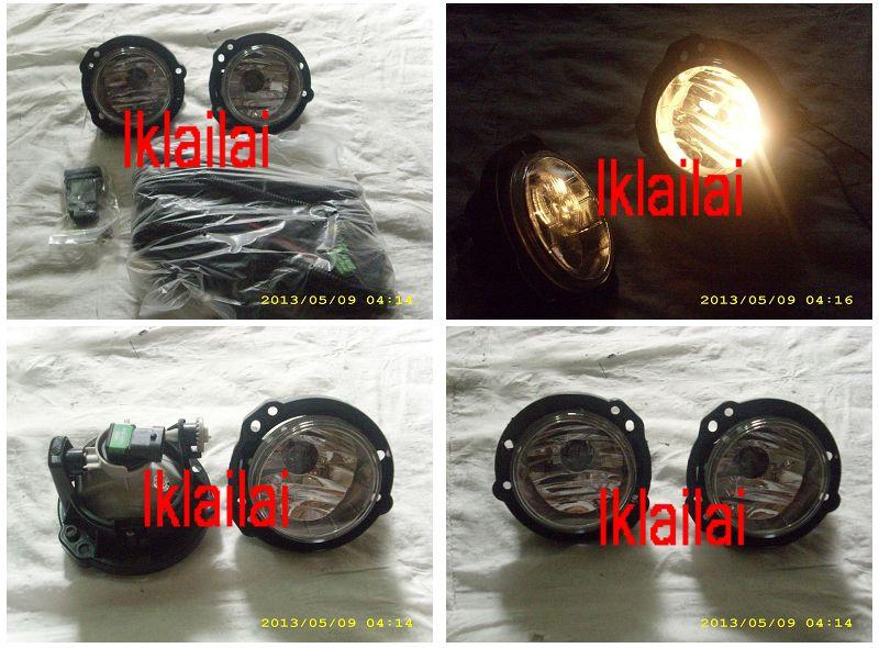 Toyota Avanza '12 Crystal Fog Lamp With Wiring & Switch