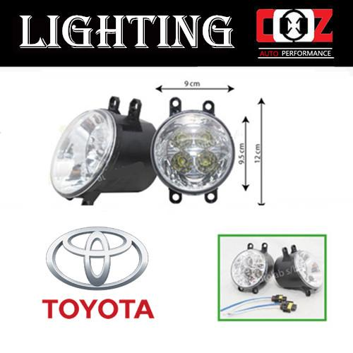 Toyota Avanza 2007 Projector Fog Lamp Fog Lights LED Front Bumper Lamp