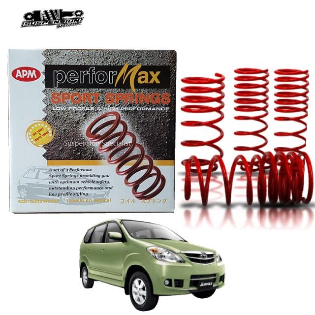TOYOTA AVANZA COIL SPORT SPRING APM PERFORMAX