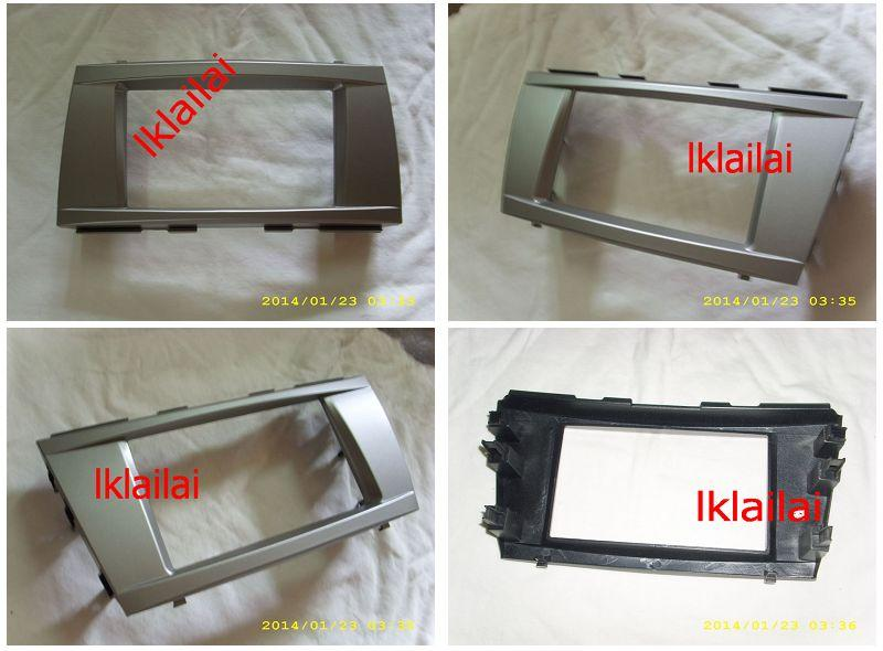 Toyota Camry '06-11 Double Din Casing /Dashboard Panel Casing [Silver]