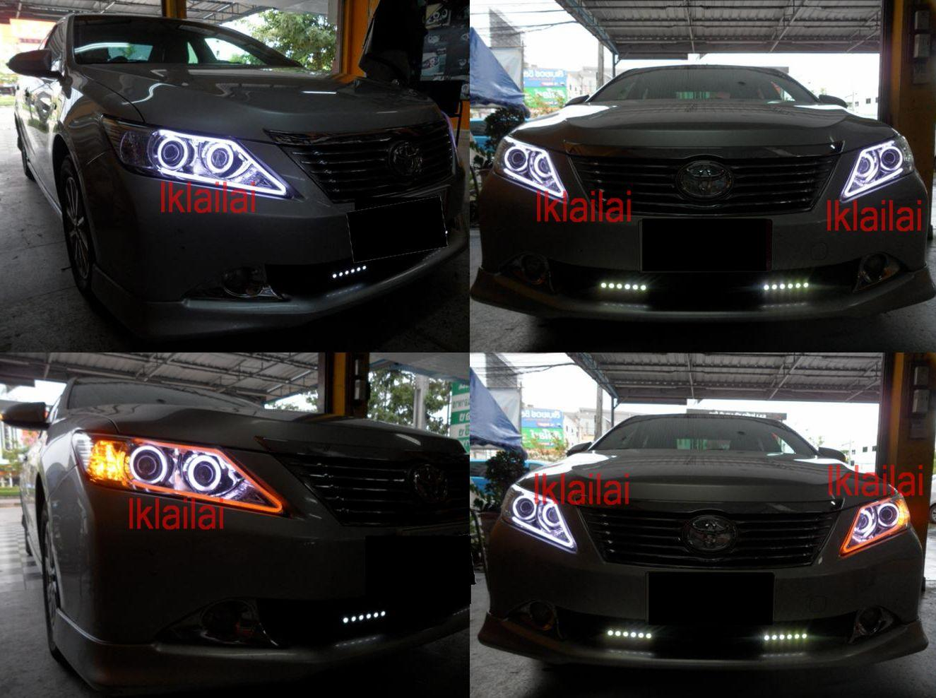 TOYOTA CAMRY 12 2-Function Eye Brown DRL [NO Head Lamp]