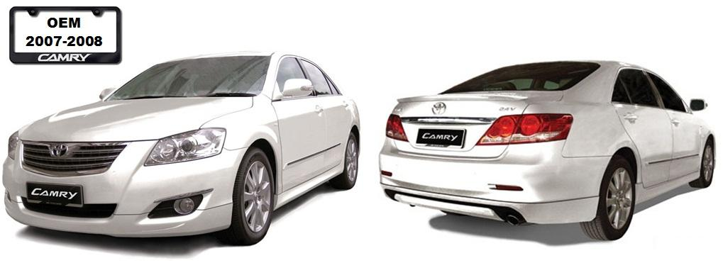 toyota camry 2007 2008 oem bodykits end 3 21 2020 6 10 pm. Black Bedroom Furniture Sets. Home Design Ideas