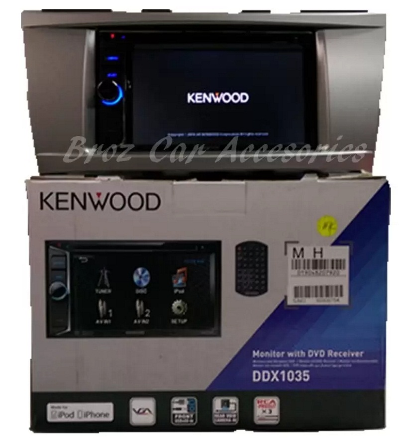 Toyota Camry 2008-2012 Kenwood DDX1035 6' OEM Plug & Play Touchscreen