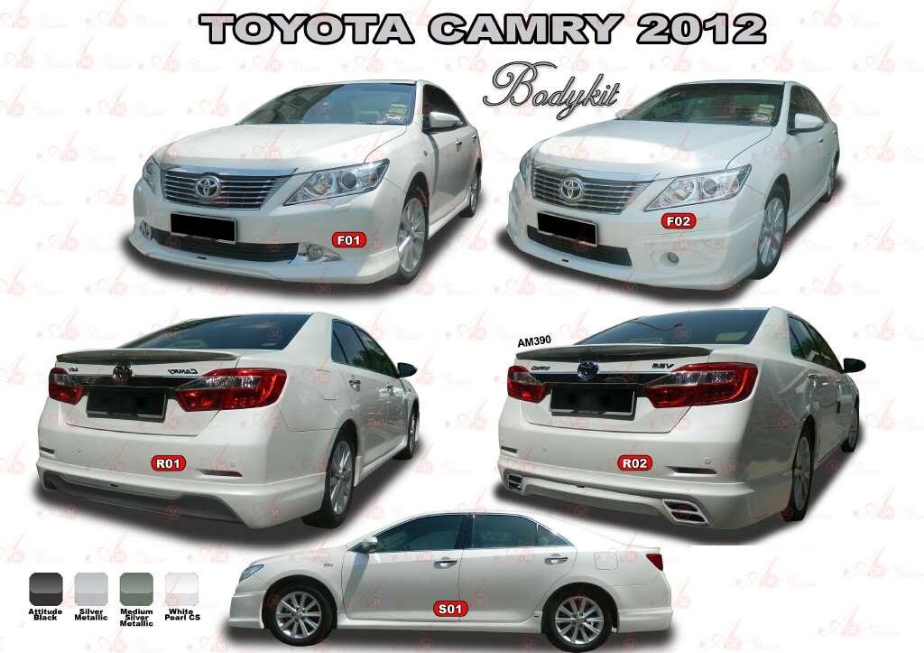 toyota camry 2012 airmaster bodykit end 3 21 2018 6 33 pm. Black Bedroom Furniture Sets. Home Design Ideas