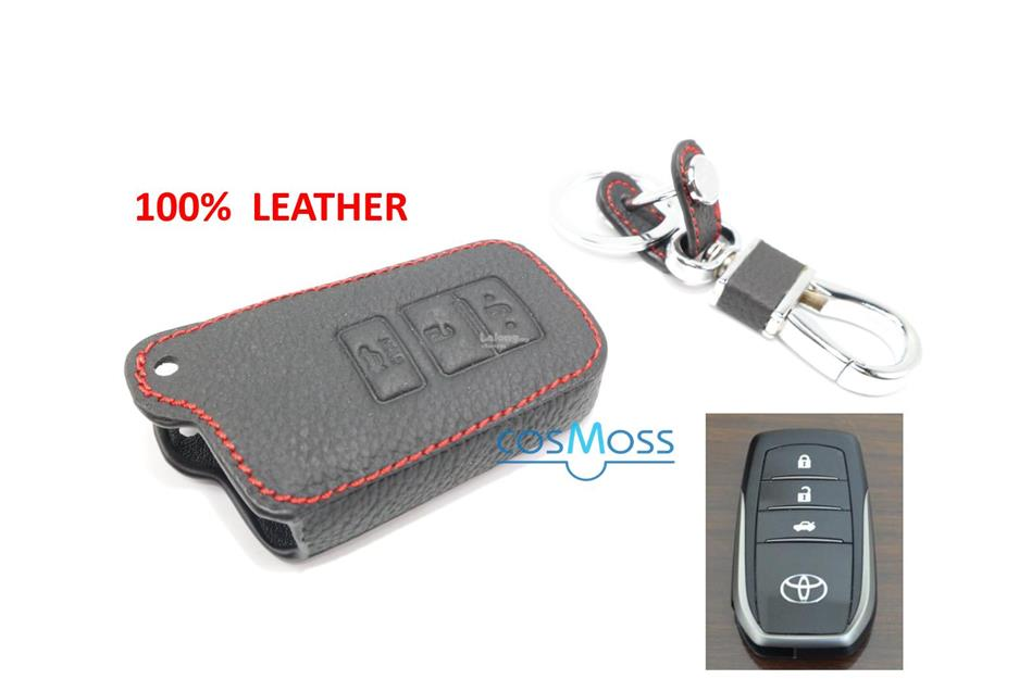 Toyota Camry Keyless Remote Leather Car Key Cover Case Toyota-9
