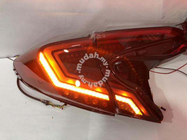 Toyota CHR Led Tail Lamp Light Bar Red