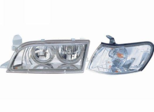Toyota Corolla `92-98 AE100/101 Head Lamp Crystal Chrome W/Rim+Corner