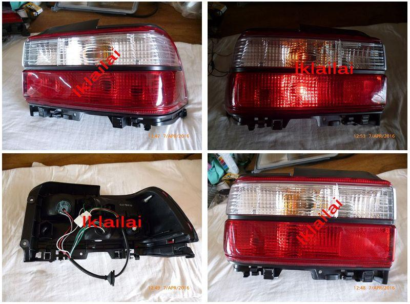 Toyota Corolla '93 AE100 / AE101 Crystal Tail Lamp [Clear-Red]