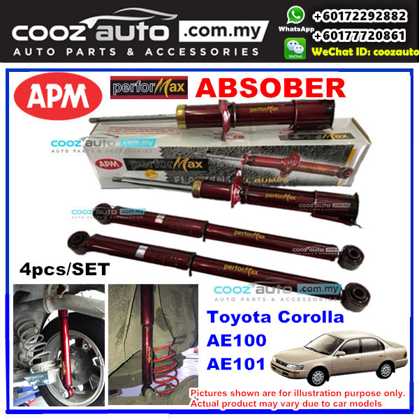 Toyota Corolla AE100 AE101 APM Performax Sport Absorber Suspension