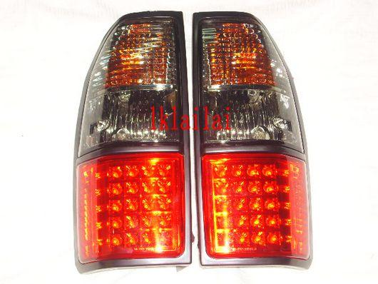 Toyota FJ90 97-02 Prado Tail Lamp Crystal LED Smoke/Red [TY55-RL02-U]