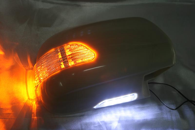 Toyota Fortuner 04 Side Mirror Cover w LED Signal & Foot Lamp