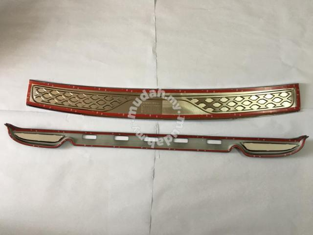 Toyota Fortuner 12-14 Bumper Guard Abs Taiwan