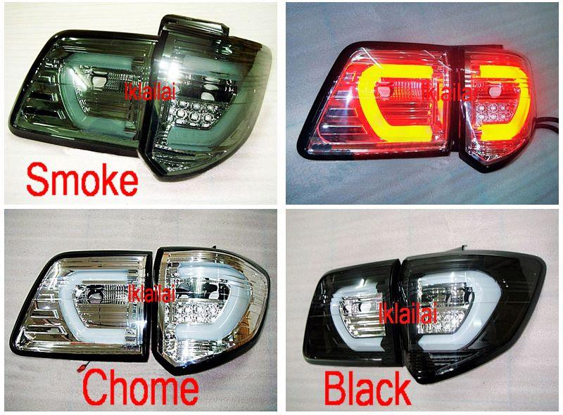 Toyota Fortuner 12 C Style LED Light Bar Tail Lamp