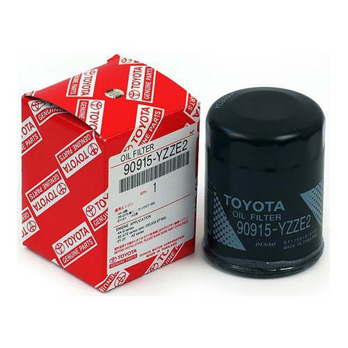 Toyota Genuine Oil Filter 90915-YZZE2 - Vios / Estima 2.4 / Altis New