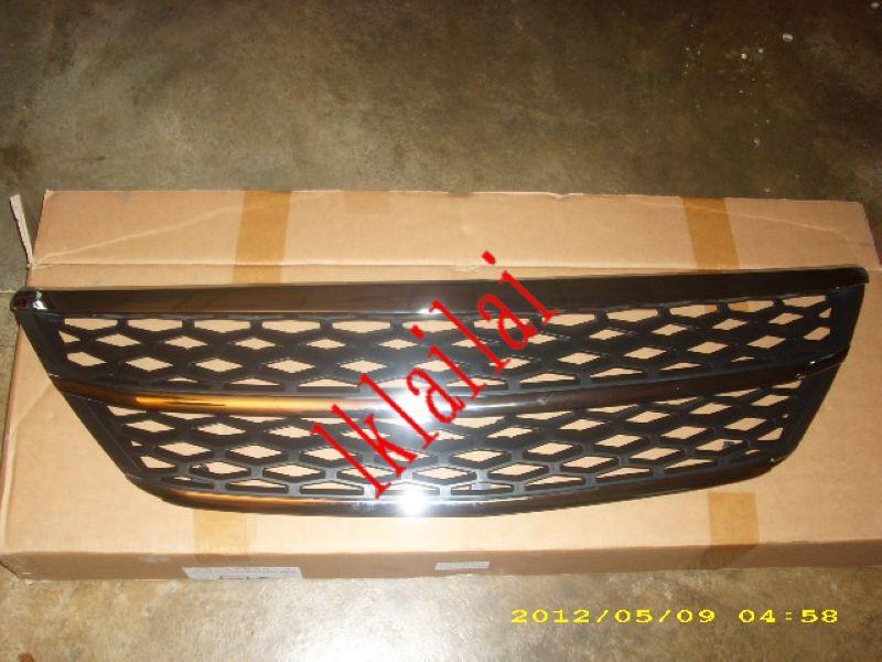 Toyota Harrier `04 Front Grille Chrome Black [TY22-FG02-U]