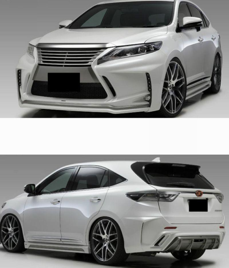 Toyota Harrier '15 SB Style Body Kit [Front + Rear Bumper+Side Skirt]