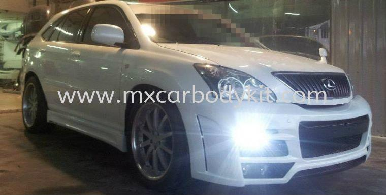 TOYOTA HARRIER 2003 ZEUS STYLE DESIGN FULL SET BODYKIT