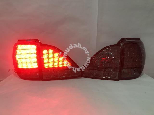 Toyota Harrier 98-02 Led Tail Lamp Smoke Taiwan