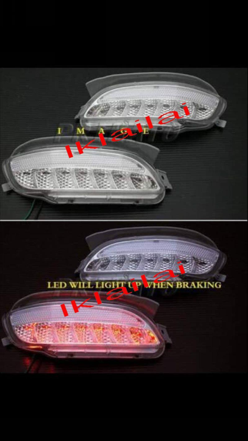 Toyota Harrier RX330 '04 LED Rear Bumper Lamp Reflector Clear Lens