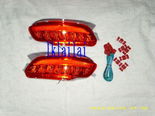 Toyota Harrier RX330 `04 LED Rear Bumper Lamp Reflector Red Lens