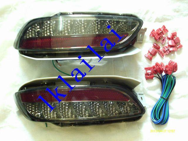 Toyota Harrier RX330 `04 LED Rear Bumper Lamp Reflector Smoke Lens
