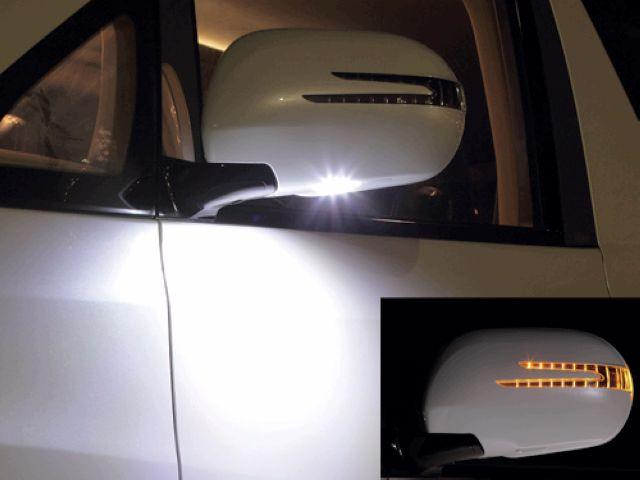 Toyota Hiace '04 KDH200 Door Mirror Cover Arrow Type+Manner Light